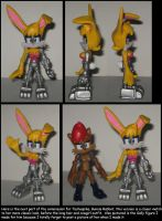 custom commission: Bunnie Rabbot by Wakeangel2001