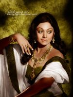 The South-Indian Goddess by xSixty-3ight