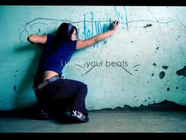 I write your beats... by Mimy0318
