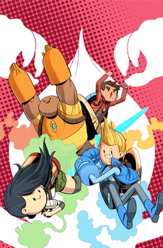Bravest Warriors Trade Paperback Cover by tysonhesse
