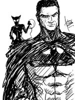Bat and the Cat by Archonyto