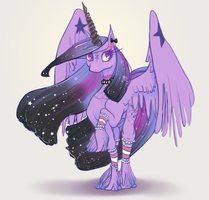 Princess Darkness Sparkle by GreyGnu