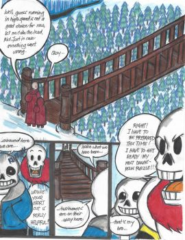 One Punch Tale Ep.3: The Skeleton Brothers pg27 by Cashopeia