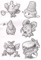 Sketches: Creatures by KupoGames
