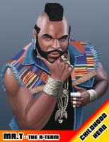 Childhood hero: Mr. T by tricketitrick