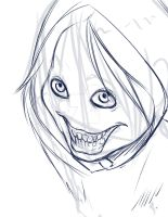 Jeff the killer WIP by rend-sukioka