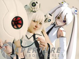 GLaDOS look a like by chowitsu