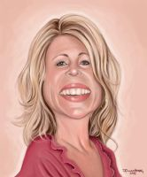 My Wife - caricature by fillengroovy