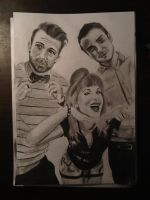 Paramore drawing #2 by MelieseReidMusic