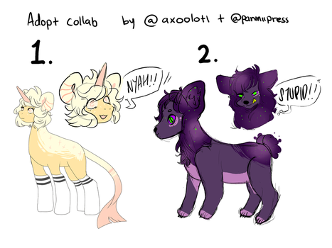 OPEN ADOPTS by PaniniiPress