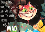 Cheshire Cat sneak peek by Fairygodflea