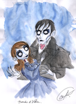 Victoria and Barnabas by DemonCartoonist