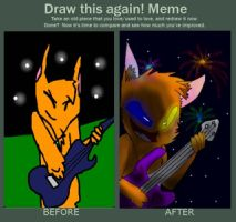 Draw This Again Meme-Ember Rockin' Out by embae