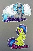 EverfreeNW badges - Soulscape and Patchwerk by onnanoko