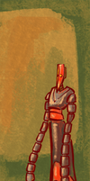 The Painted Robot by Khaiya