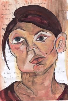 My time with Schiele by look----Esther