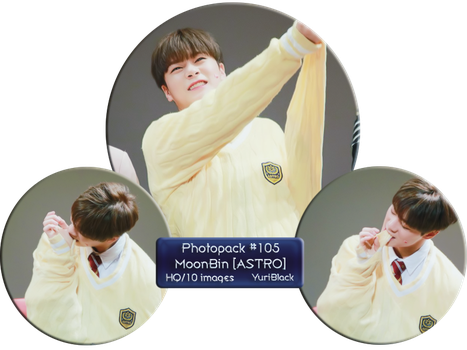 Photopack #105 - MoonBin [from ASTRO] by YuriBlack