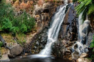 Steavenson Falls by djzontheball