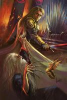 Jaime Lannister II. A Song of Ice and Fire by NickKalinin