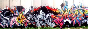 The Cool Brothers Wall by DannySanchez