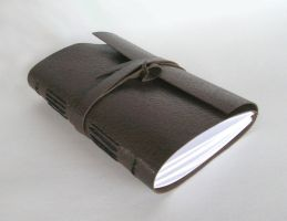 Leather Limp Bound Journal by wee-beastie