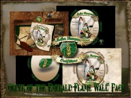 Order Of The EmeraldFlame Pack by PoSmedley