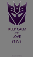 Love Steve by TRANSFORMERSsting