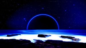 Planet at the Night by Hardii