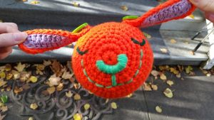 Crochet: Flying Carrot Bunny by cottoncritter