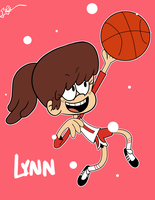 Day 6 Lynn Loud by OasisCommander51