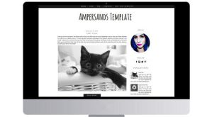 Ampersands Blogger Template by tiny-moon