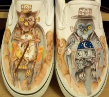 SHOES: Okami Owls by yurchan