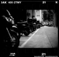 street: motobike alley by Togusa208