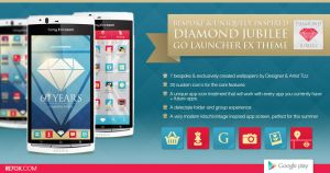Diamond Jubilee - Go Launcher EX Theme for Android by Tizz