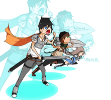 Sao- Heroes relays by Guille300
