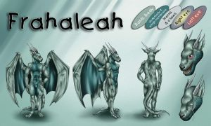 Frahaleah Ref Sheet by Natoli