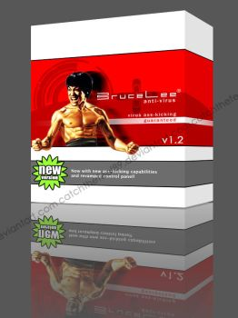 Bruce Lee anti-virus by catchthefeel89