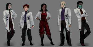 Scientists Concept by AShiori-chan