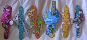 Popsicle Stick Badges by FablePaint
