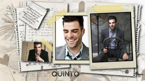 A little bit of Zachary Quinto by Nhyms