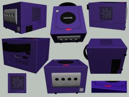 Gamecube 3D by ness84