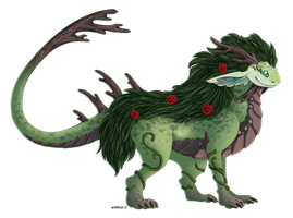 Forest dragon by Ardengrail