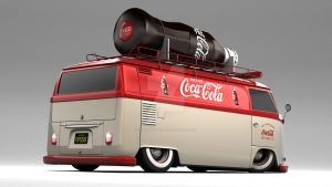 VW Type 2 Panel Coca Cola VanR by DarkStryder360