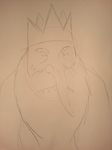 Ice King Sketch by slaverstrike