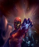 Magneto - colors by Larbesta