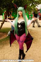 Morrigan Aensland SDCC by Pokypandas