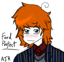H2G2: Ford Prefect by just-Abigail