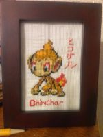 Chimchar Cross-stitch by Kai-Skynote88