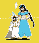 Aladdin... and Judal ? by Erumi-n