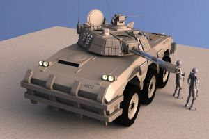 Badger AFV (II) by Quesocito